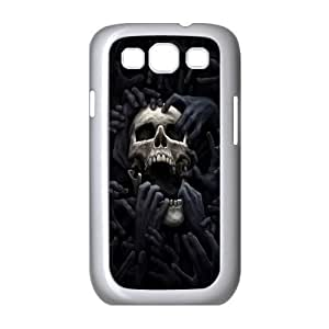 Samsung Galaxy S3 I9300 SKULL Phone Back Case Art Print Design Hard Shell Protection FG068157