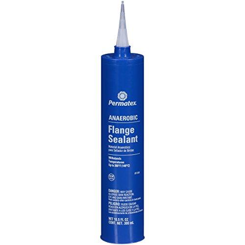 Permatex 51580-10PK Anaerobic Flange Sealant - 300 ml Cartridge, (Pack of 10) by Permatex