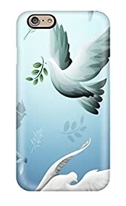 aqiloe diy Anti-scratch And Shatterproof Animated Nature Animated Pigeons Phone Case For Iphone 6/ High Quality Tpu Case