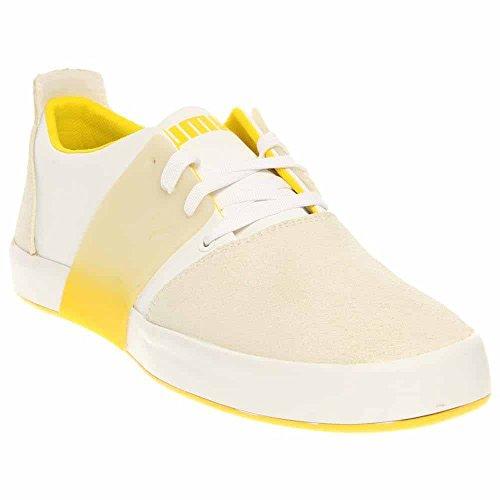 Puma - - Herren 3 El Ace Lo Dip Dye Schuhe White