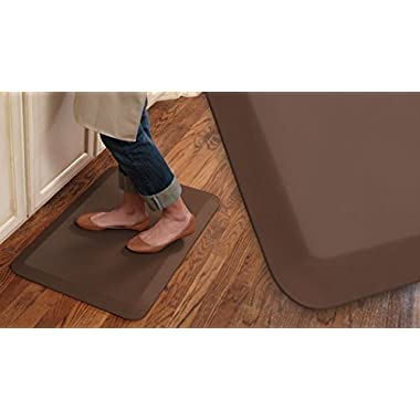 NewLife By GelPro 104-00-2032-1 Professional Grade Anti-Fatigue Kitchen Floor Mat, 20-Inch by 32-Inch, Midnight