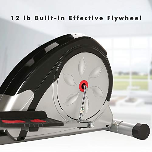 Simpfree Elliptical Machine Trainer Magnetic Smooth Quiet Driven, Top Levels Elliptical Trainer (Gray.) by Simpfree (Image #3)