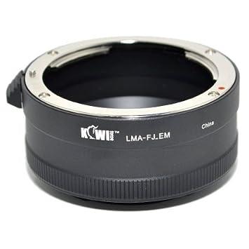 Kiwifotos adaptador de montura de lente con anillo de Control de ...