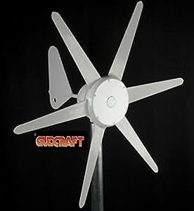 ALEKO® WG300 12-Volt 6-Blade 300 Watt Wind Generator With Charge Controller