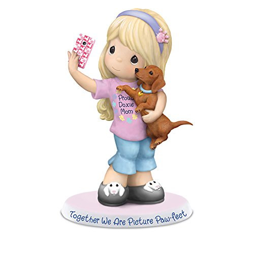 Precious Moments Girl and Her Dachshund Figurine Supports for sale  Delivered anywhere in USA