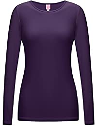 RE-Order Bother Women's Long Sleeve Stretchy Thumb Holes Active Top (S-3X, Plus Sizes)