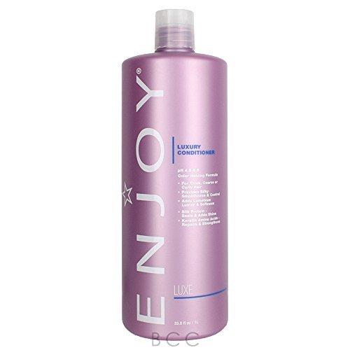ENJOY Luxury Conditioner (33.8 OZ) - Smooth, Soft, Silky Hair Conditioner with Moisturizing Formula
