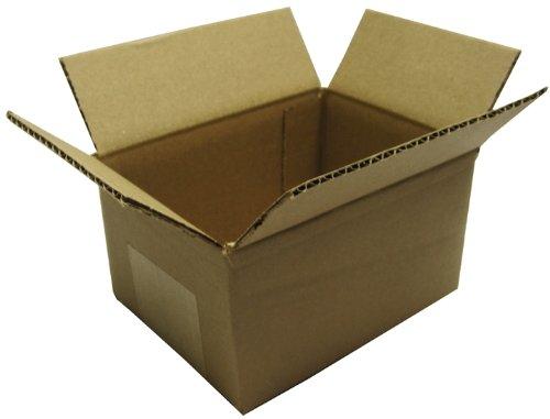 (10) Kraft Brown 200# Test Cardboard Fold Up DVD Case Shipping Mailers - Holds 5 - 7 Standard 14mm Cases #DVBC05