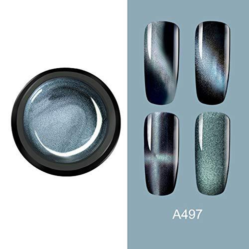 コマースイデオロギー植物学ネイルポリッシュジェルネイルネイルオイルマニキュア,メタリック5DキャットアイポリッシュジェルシャイニースターリースカイソークオフアートネイルUVポリッシュ, Uamaze ビューティー ネイル ネイル道具 ケアツール ネイルデザイン ネイルアートツール メイク道具 ネイルアートパーツ マニキュア,長持ち、使いやすい、水性、無害、環境にやさしい