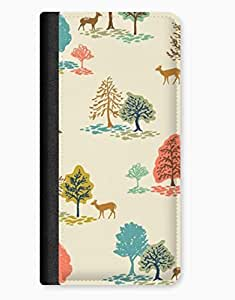 Country Bumkin Trees & Colour iPhone 5/5s Leather Flip Case