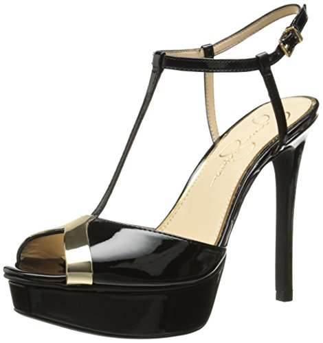 Jessica Simpson Women's Carys Dress Pump, Black, 7 M US