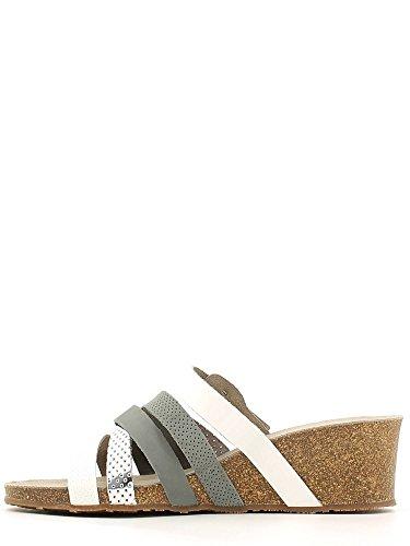 Grunland CB0471 Wedge sandals Women MULTI BIANCO 1reD5