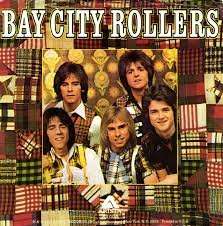 Bay City Rollers 45 vinyl Saturday Night/Marlina