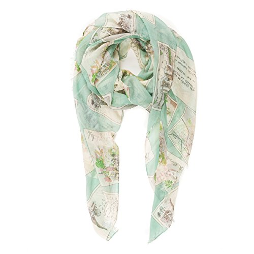 Scarf for Women Lightweight Geometric Fashion Spring Winter Scarves Shawl Wraps (P086-5)