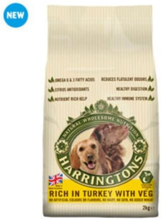Amazon Com Harringtons Adult Dog Food With Turkey And Vegetables