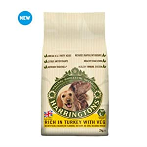 Harrington's Harringtons Adult Dog Food with Turkey and Vegetables (2Kg) Click on image for further info.