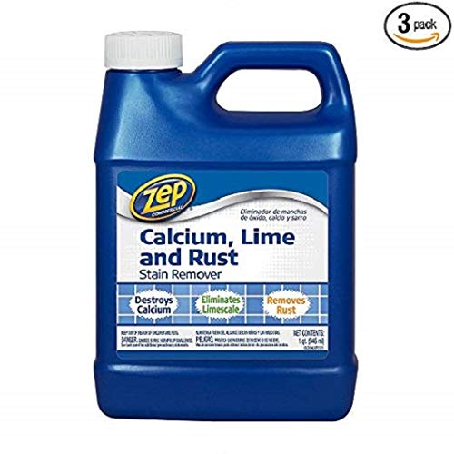Zep Commercial Calcium, Lime and Rust Stain Remover (32oz., 3pk.) - (Original from manufacturer - Bulk Discount available)