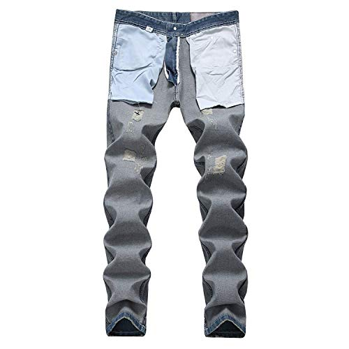 Cotton Skinny Jeans Ssig Dritti Comodi Blu Stretch E Slim Fashion Da Denim Pants Vintage Morbidi Uomo Hellblau Pantaloni Fit xZwqXrZ