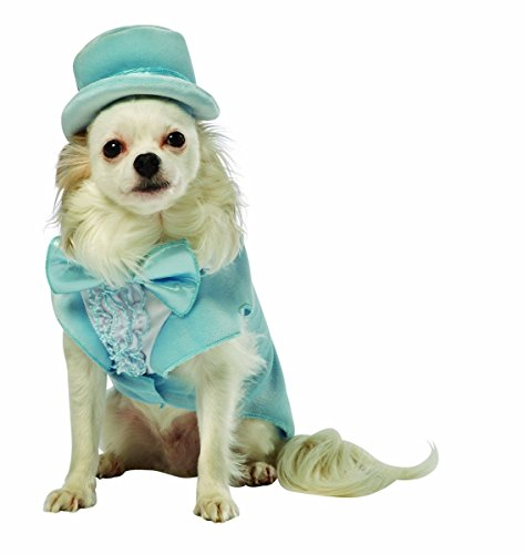 Rasta Imposta Dumb and Dumber Harry Blue Tuxedo Dog Costume, X-Large -