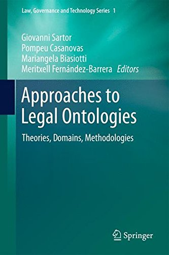 Approaches To Legal Ontologies: Theories, Domains, Methodologies (Law, Governance And Technology Series)