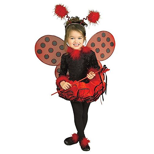 Deluxe Toddler Ladybug Costumes (Deluxe Lady Bug Costume - Small)