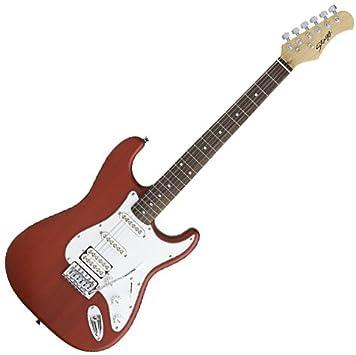 Stagg eSurf 250 TR Paquete de guitarra eléctrica con el amperio y ...