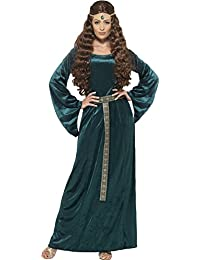Smiffy's Women's Medieval Maiden Costume