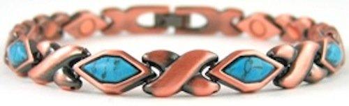 ProExl Copper Magnetic Bracelet Turquoise