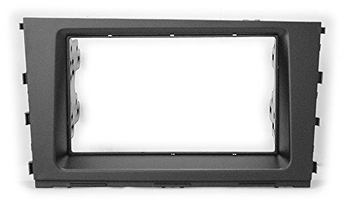 Carav 11-623 Car Stereo Radio installation frame Double Din in Dash Facia Fascia Kit for HYUNDAI Mistra 2013+ with 17398mm/178100mm/178102mm