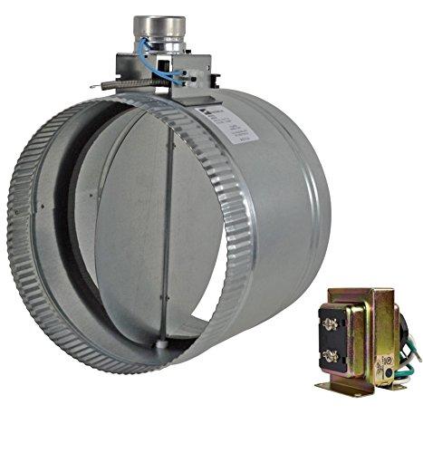 """ZO210 10"""" normally open adjustable damper - Diameter Motorized Damper"""