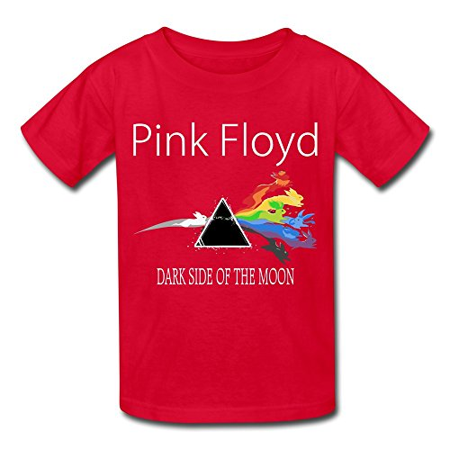 [TBTJ Pink Floyd T-shirts For Boys And Girls 6-16 Years Old Red Medium] (Customes Halloween Maternity)