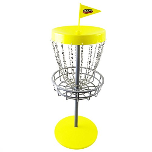 Innova Mini DISCatcher Mini Disc Golf Game Set (Minidisc Golf Basket)