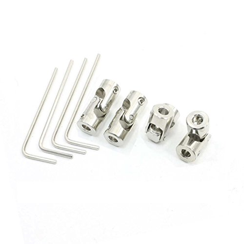3.00 Overall Length 0.88 Outer Diameter 3.00 Overall Length Lovejoy Size D5B Universal Joint with Setscrew 0.88 Outer Diameter 3 mm x 1.4 mm Keyway A and 4 mm x 1.8 mm Keyway B 9 mm Round Bore A and 12 mm Round Bore B