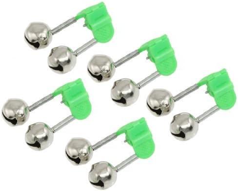 Amazon.com : eDealMax 5 piezas de plástico Verde Clip Caña ...