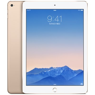 Apple iPad Air2 Wi-Fi Cellular (MH1C2J/A) 16GB ゴールド【国内版 SIMフリー】