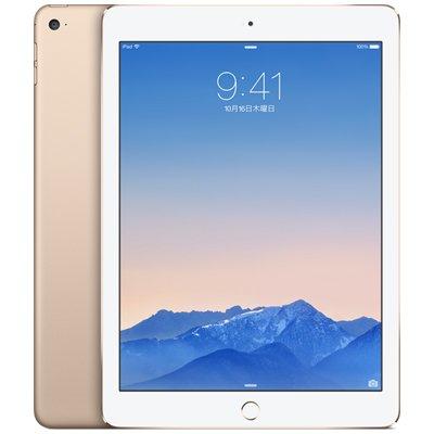 Apple iPad Air2 Wi-Fi Cellular (MH1C2J/A) 16GB ゴールド【国内版 SIMフリー】の商品画像
