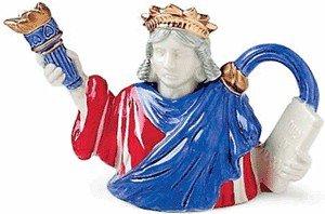 Fitz And Floyd Statue Of Liberty Mini (Fitz Floyd Teapots)