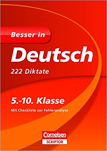 Besser In Deutsch 222 Diktate 5 10 Klasse Imported By