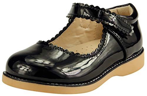 The Doll Maker Girl's Mary Jane - FBA173041A-11 Black (For Doll Girls Shoes)