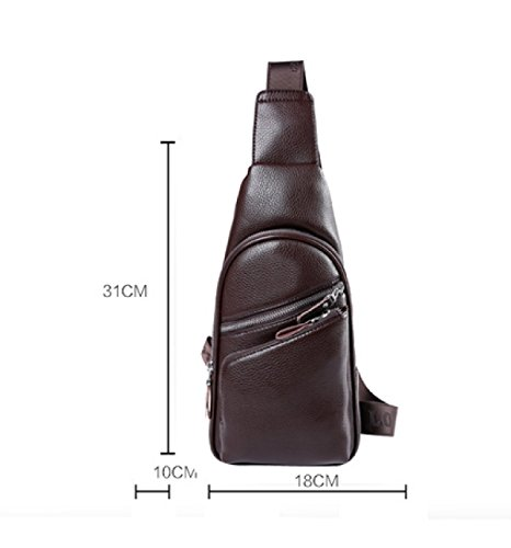 Outdoor Bag Casual Package Chest Sports Shoulder Messenger Backpack Laidaye Business Fashion Black dI7nqznxw