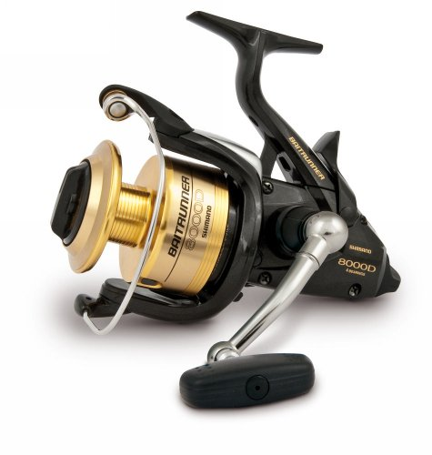 Shimano Baitrunner 8000D EU Model Spinning Fishing Reel With Front Drag, ()