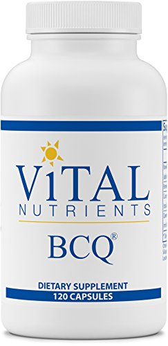 Vital Nutrients - BCQ (Bromelain, Curcumin & Quercetin) - Herbal Support for Joint, Sinus and Digestive Health - 120 Capsules by Vital Nutrients