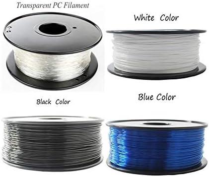 Wang-nuan-jun, 1.75/3 mm Filamento de PC Premium for Impresora 3D ...