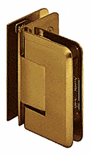 - CRL Pinnacle 092 Series Antique Brass 90176; Glass-To-Glass Hinge