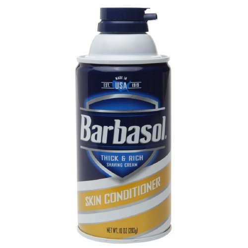 Barbasol Mens Shave Cream Skin Conditioner, 10 Ounce ( Pack Of 3 )