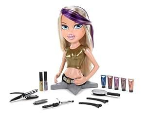 amazoncom bratz magic hair color funky fashion makeover