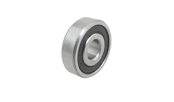 10PCS 6200-2RS 6200RS Deep Groove Rubber Shielded Ball Bearing 10mm*30mm*9mm