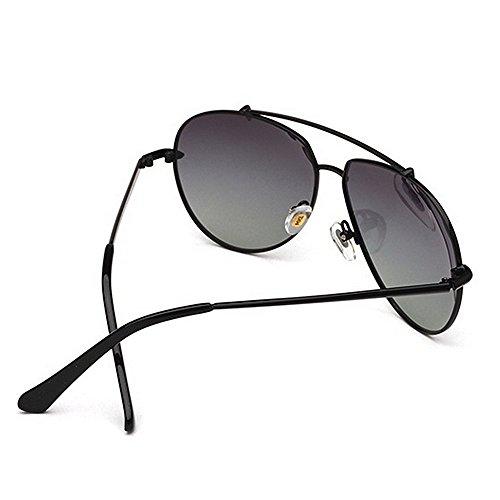 Black Sport Lunettes Métallique Polarisées de de HD Cadre Yxsd Couleur Objectif Lunettes Soleil air Black pour Métal Hommes en Léger Plein en Ultra q8B5wdAx