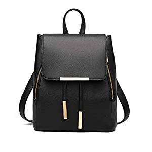 Aiseyi Women Bags Backpack Purse PU Leather Fashion Drawstring Casual Backpacks Travel Rucksack