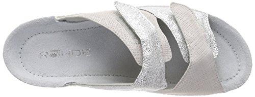 Rohde Neustadt-50, Women's Mules Grey (Quarz 81)